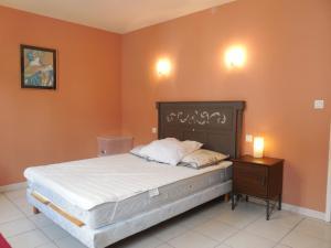 Un ou plusieurs lits dans un hébergement de l'établissement Villa 5 personnes proche Airbus