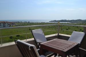 A balcony or terrace at Seagarden Villa Resort