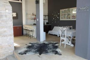 Restoran või mõni muu söögikoht majutusasutuses Shama Selfcatering