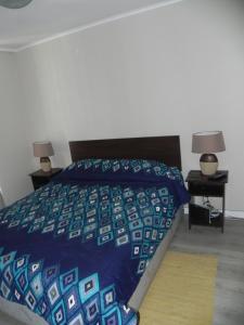 Cama o camas de una habitación en DV Apartments Santa Lucia