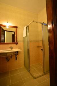 Bathroom sa Olive Garden Apart Hotel