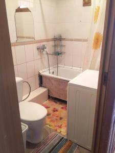 Ванная комната в Apartment on Bratiev Zhdanovykh