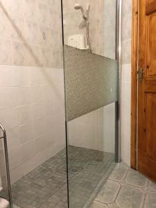 A bathroom at Golf links view Enniscrone