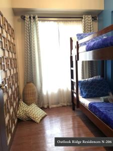 A bunk bed or bunk beds in a room at Outlook Ridge Residences N-206