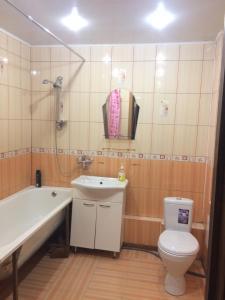 Ванная комната в Апартаменты на улице Тельмана 150/10