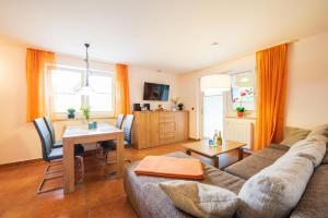 Istumisnurk majutusasutuses Ferienhaus am Seilgarten