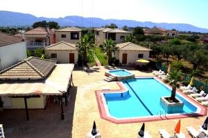 A view of the pool at Olea Village or nearby