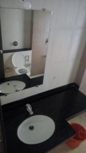 A bathroom at Vishal sarovar lake view