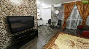 A television and/or entertainment center at Amazing Studio