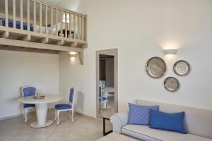 Ein Sitzbereich in der Unterkunft Skiathos Luxury Living