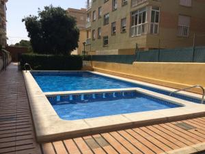 The swimming pool at or close to Oropesa del Mar III