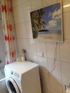 A bathroom at Ferienwohnung Nürnberg Zentrum