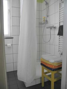 A bathroom at Hübsche ruhige Wohnung im Viertel