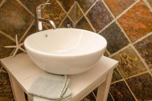 A bathroom at Sundowner Loft