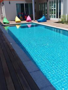 The swimming pool at or near Long N Joy Samui