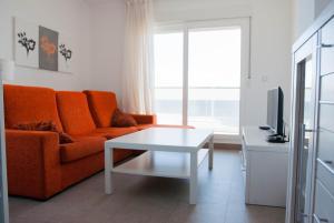 Zona de estar de Apartamentos Veneziola Golf II