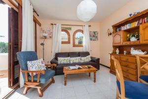 Ein Sitzbereich in der Unterkunft Apartamento SAN ANDRES