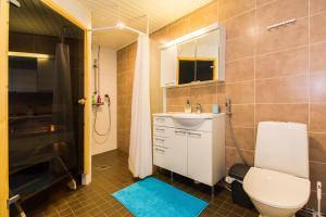 Баня в Helppo Hotelli Apartments Rovaniemi