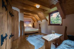 Posteľ alebo postele v izbe v ubytovaní Oddy