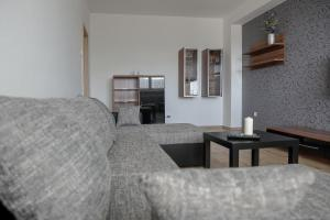 A seating area at Eva apartments Pred polom