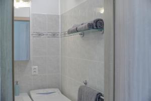 A bathroom at Eva apartments Pred polom