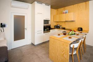 A kitchen or kitchenette at Residence Trafick