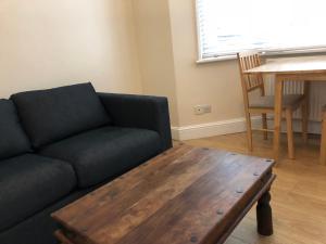 A seating area at Bagleys Lane