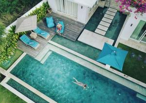 A view of the pool at 353 Degrees North or nearby
