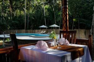 Restaurant ou autre lieu de restauration dans l'établissement Crystal Bay Villa & Residence