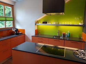 Küche/Küchenzeile in der Unterkunft Villa Papagena