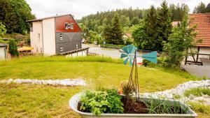A garden outside EisHexe