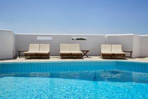 The swimming pool at or near Sunrise Paros