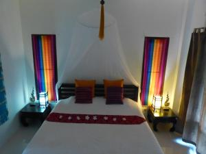A bed or beds in a room at Seagull Villa
