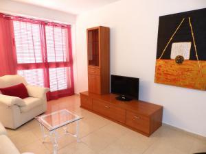 TV o dispositivi per l'intrattenimento presso Apartamento La Ladera