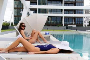 The swimming pool at or close to Avani Broadbeach Residences