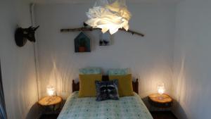 Un ou plusieurs lits dans un hébergement de l'établissement Reigerhuisje