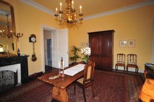 Een zitgedeelte bij Chateau De Hodbomont