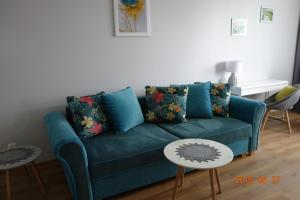 A seating area at Apartament 88