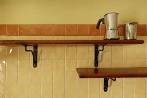 Virtuve vai virtuves aprīkojums naktsmītnē Martin house