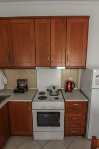 A kitchen or kitchenette at Apartment Bill
