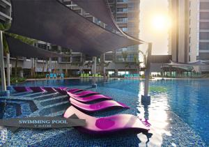 The swimming pool at or close to Atlantis Residence By V SUITES
