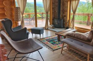O zonă de relaxare la Green Cottage