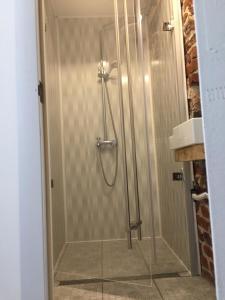 A bathroom at Apartment August 11