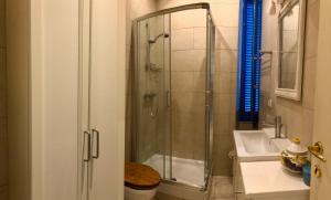 Kylpyhuone majoituspaikassa Villa Christina