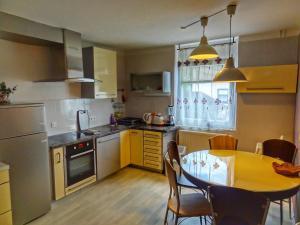 A kitchen or kitchenette at Apartma Pina