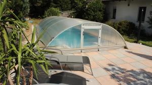 The swimming pool at or near Holiday House Nespeky