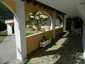 A balcony or terrace at Asteri Studios