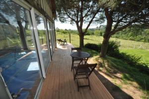 Balcon ou terrasse dans l'établissement Peter Rabbit House
