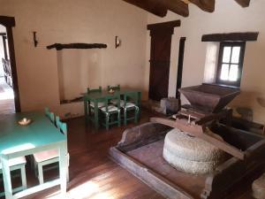 A seating area at El Molino de Cachi