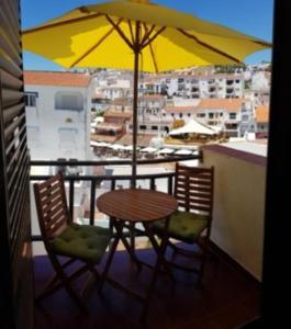A balcony or terrace at Carvoeiro Beach Algarve Portugal Praia do Carvoeiro